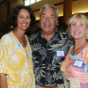 Patty St John, Ray Tiezzi and his wife Diane Tiezzi  at the Take Me Out to the Ball Game Chamber Mixer at the Institution for Saving.