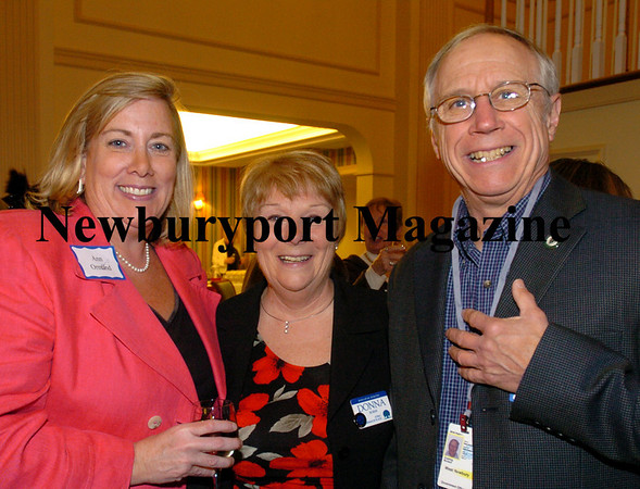Ann Ormond, director of Newburyport Chamber of Commerce; Donna Burns, executive director of Atria Merrimack Place and Dick Cushing, West New selectman. Bryan Eaton/Staff Photo