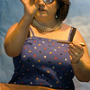 "Amesbury: <br /> Bonnie Jean Wilbur as Winnie in Samuel Beckett's ""Happy Days"" at the Firehouse in Newburyport.<br /> Photo by Handout/Newburyport Daily News. Monday, November 14, 2005"