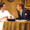 "Newburyport: <br /> Stephen Turner as Felex Ducotel and Maureen Daley as Emilie Docotel in the Firehouse production on ""My Three Angels""<br /> Photo by Jim Vaiknoras/Newburyport Daily News. Sunday, June 11, 2006"