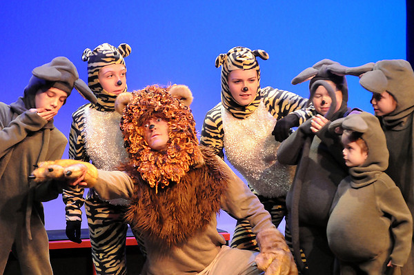 """Newburyport: Local children star in the new play at the Firehouse, """"Into the Act with Aesop's Fables"""" which will feature dancing, music and multimedia. Photo by Ben Laing/Newburyport Daily News Tuesday February 3, 2009."""