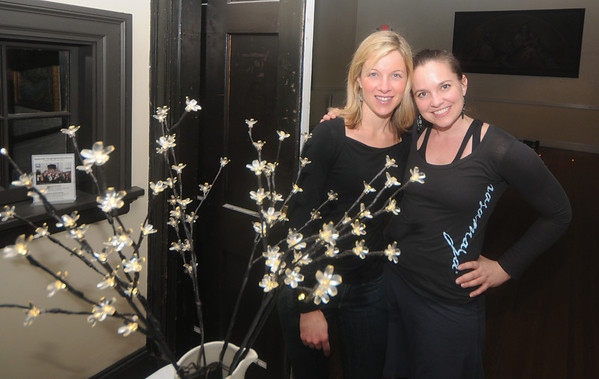 Kristin Keller and Carrie Tyler of Rasamaya Yoga