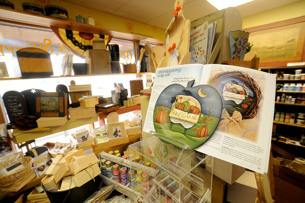 Quilting and craft supplies at the Quilted Acorn in Newbury