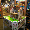 A Calico Critters doll house at Eureka Toys in Newburyport