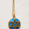 A Star of David neckless
