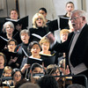 Newburyport: Musical Director Gerald Weale conducts the Newburyport Choral Society.