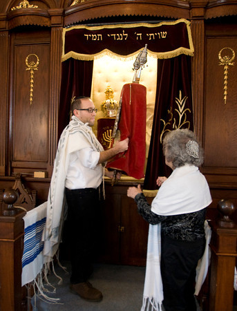 Taking the Torah from the Ark