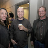 Jenifer Brody, Kai Vlahos and Todd Prussman at the Jeb Dubus fundraiser at GDA