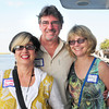 Newburyport: Rosemary Silva of Roca's and Stephen Bentley of Bentley Design and wife, Chris. Bryan Eaton/Staff Photo