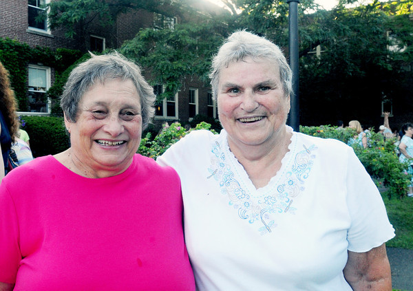 Newburyport: Debbie Knight, left, and Susan Towne were Anna Jaques babies. Bryan Eaton/Staff Photo