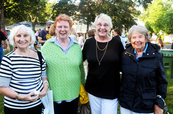 Newburyport: Joan Kenny, Peg McClure, Sheila McCoy and Paula Fowler spent the first days of their lives at the same time at the Anna Jaques Hospital where they were born at the end of July in 1938. Bryan Eaton/Staff Photo