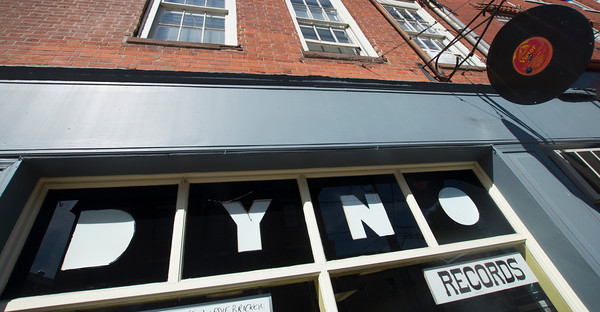 Dyno Records on Middle Street in Newburyport a mecca for vinyl record seekers.