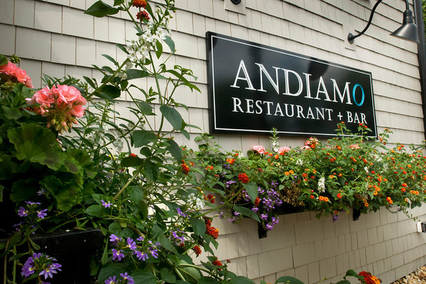 Newburyport: Andiamo opened on the site of the former Joseph's Winter Street Cafe. Bryan Eaton/Staff Photo