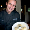Newburyport: Owner/Chef Jim Rogers of Andiamo with his signature Butternut Squash Ravioli. Bryan Eaton/Staff Photo