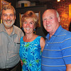 Amesbury: Gary Coltin, left, and Dick Peeke, right of the Provident, and Beverly Peeke of Amesbury. Bryan Eaton/Staff Photo