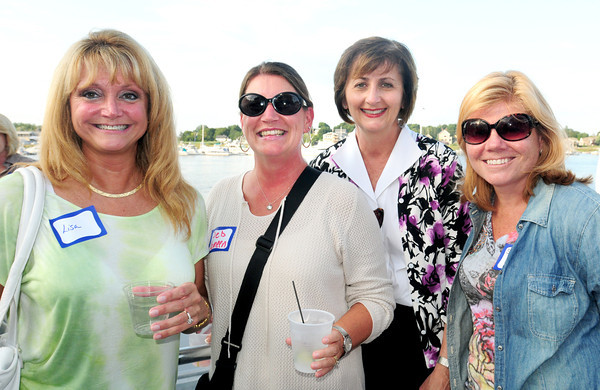 Newburyport: From TD Bank, from left, Lisa Shanko, Deb Yameen, Liz White and Sheryl Prior. Bryan Eaton/Staff Photo