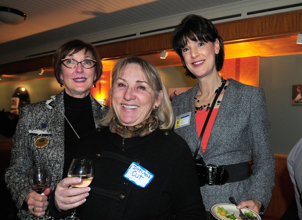 Marion Spark of Coldwell Banker, Maryann Jackson of Director's Cut and Karen Vaughn of Nitty Bitty Critter. Bryan Eaton/Staff Photo