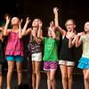 Julia Silva, Emily Ney, Casandra Plisinski, Lily Delahanty, Kelly Atwood, and Emma Delahanty at the Glee Program the Firehouse .