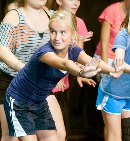 Berit Palma performa at the Glee Club program at the Firehouse