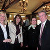 Anne Papointe, Provident Bank; Danielle Perry, vice president marketing at the Anna Jaques Hospital; Lori Karas, store manager and Michael Arndt, commercial lending of TD Bank. Bryan Eaton/Staff Photo
