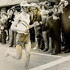 Rick Bayko running the 1974 Boston Marathon