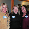 Jamie Dee Frontiero, realtor, Patricia Jennings and Cathi Corradino, both of Neighborhood Health. Bryan Eaton/Staff Photo
