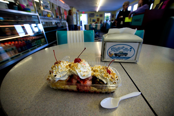 A banana Split from Haley's. Jim Vaiknoras photo