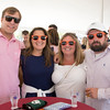 JIM VAIKNORAS/Staff photo Kenneth and Heidi Roland along with Lyndsey and Nathan Saddler at the Yankee Homecoming Brewfest.