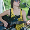 JIM VAIKNORAS/Staff photo Sarah Blacker performs at the Fourth annual Byfield Music and Arts Festival at Manter Field in Byfield Saturday.