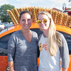 JIM VAIKNORAS/Staff photo Kim Wennerberg and Daniele Rogers from Shocktop Brewery at the Yankee Homecoming Brewfest.