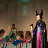 JIM VAIKNORAS/Staff photo Ella Lane, as Maleficent  in the Take The Stage production of Sleeping Beauty at the Byfield Community Arts Center.