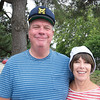 JIM VAIKNORAS/Staff photo david Kemper and Kerri St.Jean of Salisbury, as the Skipper and Gilligan at The Gilligan's Island Costume Fundraiser Cruise Hosted by The Actors Studio of Newburyport on teh Newburyport Waterfront.