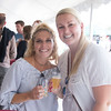 JIM VAIKNORAS/Staff photo Chelsea Volkers and Jenna Kelly  at the Yankee Homecoming Brewfest.