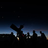 JIM VAIKNORAS/Staff photo About 30 people showed up to gaze at the night sky at North Shore Amateur Astronomy Club (NSAAC) star party at Salisbury Beach Reservation.