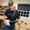 JIM VAIKNORAS/Staff photo The Joppa Flatts founder Chris Santarelli rehearses in Rowley.