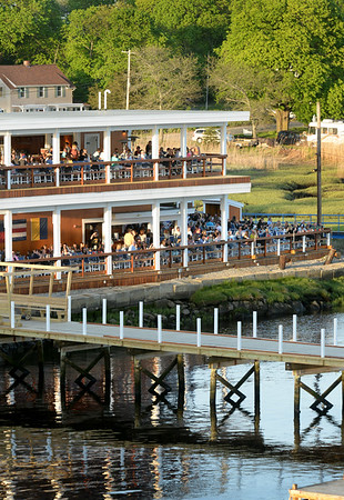 BRYAN EATON/Staff photo. The Deck in Salisbury recently completed a second story to the establishment which sits right on the Merrimack River.