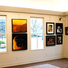 JIM VAIKNORAS/Staff photo The Laura Coombs Hill Gallery at  the Newburyport Art Association.