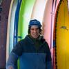 JIM VAIKNORAS/Staff photo Owner Mike Paugh at Zapstix Surf Shop in Seabrook.