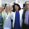 Photo by Frank J. Leone, Jr.<br /> Seen at event. at left, Sylvia Tallman of Andover, board member, Kristin Tallman-Colden, Newburyport Mayor Donna Holaday<br /> and Daryl Colden, all of Newburyport,<br /> at the Women of Northern Essex Community College 18th Annual Fundraising Event, Saturday, home<br /> of Ann and Charles Lagasse, Newburyport.