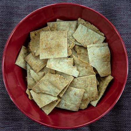 JIM VAIKNORAS/Staff photo  Rosemary crackers