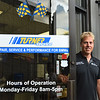 BRYAN EATON/Staff Photo. Will Turner of Turner Motorsports in Amesbury.