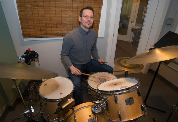 Zach Field at his studio. Jim Vaiknors photo