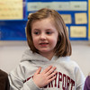Chloe Roby Pledges Allegiance in Melissa Duguie's Class