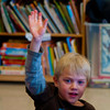 jack Parr raises his hand
