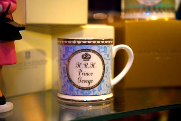A Prince George Tea cup by Hudson and Middleton $42