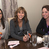 Sarah Macomber of Haverhill , Hiedi DiPietro of West Newbury, and Diane Demakis of Swampscott at Andiamo in Newburyport.