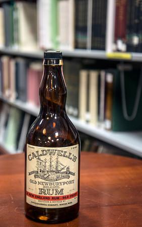 Newburyport Library archive center Caldwell's Rum in Newburyport 1790-1952
