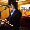 BRYAN EATON/Staff Photo. Triton High junior Ben Eramo at 17 State Street Cafe in downtown Newburyport.