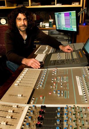 BRYAN EATON/ Staff Photo. On The Frindge Studios owner and director Joe Cannatelli.