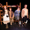 Emily Fluet, Liam Bixby, Ella Bernard, and Lily MacCleod  in Terezin at the Actors studio